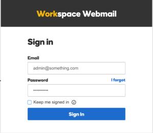 Godaddy Email Login • Workspace Login Official Portal